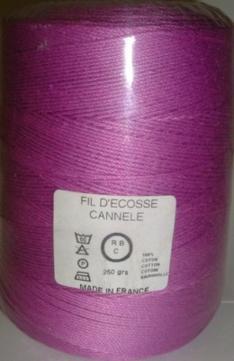 Yeoman Cannele Corded Mercerised Cotton 4ply Orchid Y196.039