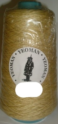 Yeoman Cannele Corded Mercerised Cotton 4ply Sand Y196.011