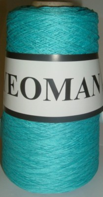 Yeoman Cannele Corded Mercerised Cotton 4ply Turquoise Y196.140
