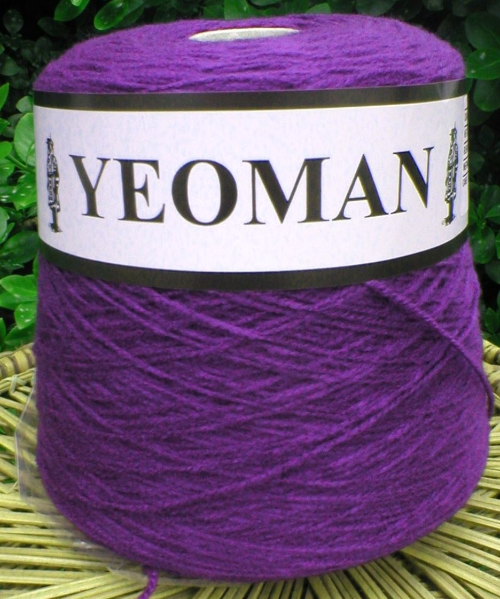 Yeoman Cashmilon Yarn Purple