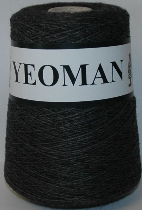 Yeoman Fifty Fifty 50/50 Yarn - Charcoal