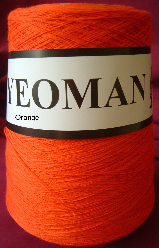 Yeoman Soft Cotton Yarn 2ply - Orange