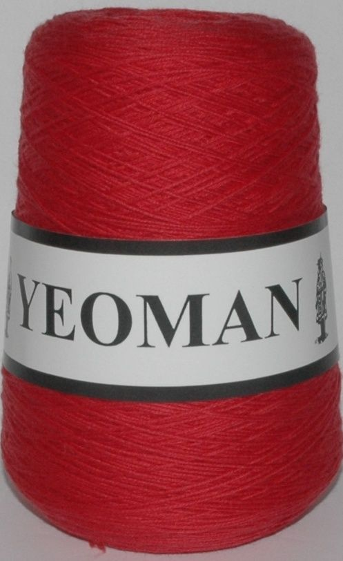 Yeoman Sport  Pure Virgin Merino Wool - Red