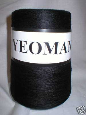 Yeoman Supersheen Acrylic Yarn Knitting Machine BLACK Y188.999